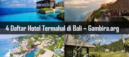 4 Daftar Hotel Termahal di Bali