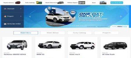 Produk SEVA Tempat Mobil Online