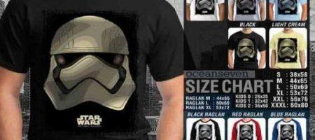 Ragam Produk Star Wars T-Shirt Indonesia